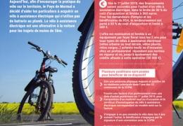 Aide à l'acquisition d'un vélo électrique